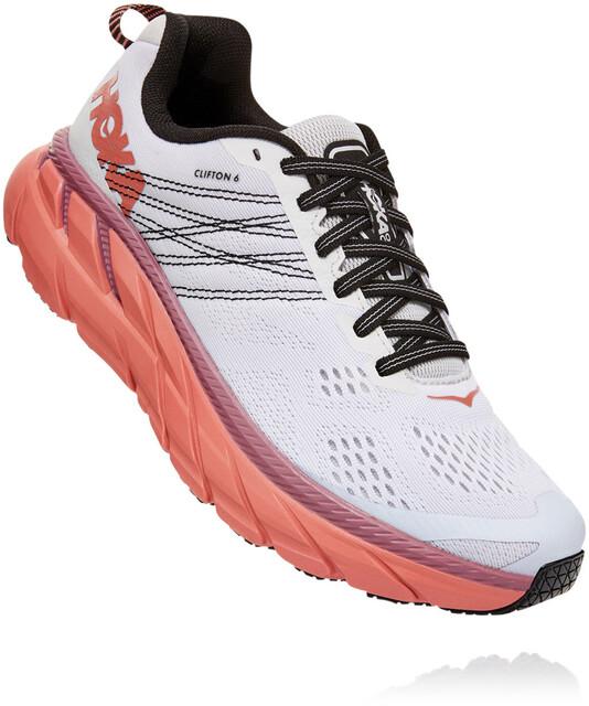 Hoka One One Clifton 6 Shoes Women nimbus cloudlantana